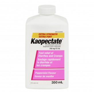 Kaopectate Extra Strength Fast Relief of Diarrhea and Cramps Solution