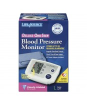 Life Source Deluxe One Step Blood Pressure Monitor