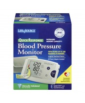 Life Source Quick Response Blood Pressure Monitor