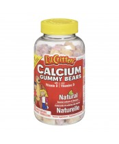 L'il Critters Calcium Gummy Vitamins With Vitamin D
