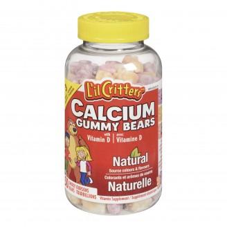 L'il Critters Calcium Gummy Vitamins With Vitamin D
