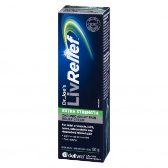 LivRelief Extra Strength Chronic Angry Pain Cream 50g
