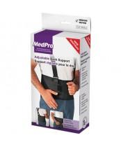 MedPro Adjustable Back Support Belt - Medium