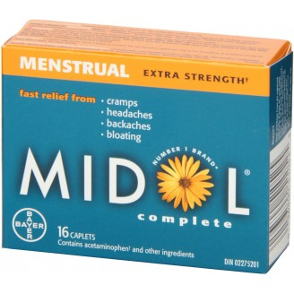 Midol Extra Strength Complete Menstrual