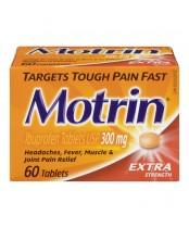 Motrin Extra Strength Pain Relief Ibuprofen Tablets