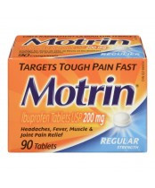 Motrin IB Regular Strength Ibuprofen