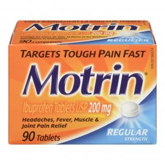 Motrin IB Regular Strength Ibuprofen