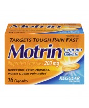 Motrin IB Regular Strength Ibuprofen Liquid Gels