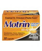 Motrin Super Strength Pain Relief Ibuprofen Liquid Gels