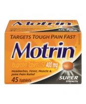 Motrin Super Strength Pain Relief Ibuprofen Tablets