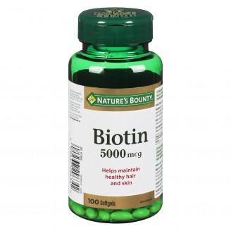 Nature's Bounty Biotin Pills