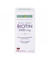 Nature's Bounty Biotin Quick Dissolve Tablets