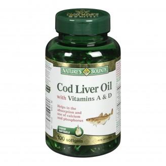 Nature's Bounty Cod Liver Oil