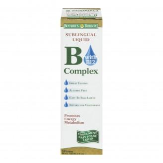 Nature's Bounty Sublingual Liquid B Complex