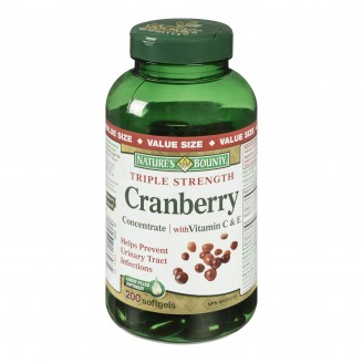 Nature's Bounty Triple Strength Cranberry