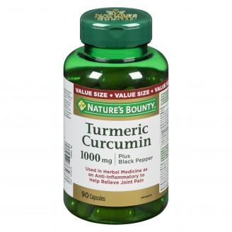 Nature's Bounty Turmeric Curcumin plus Black Pepper Pills Supplement