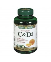 Nature's Bounty Vitamin C & D3