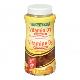 Nature's Bounty Vitamin D3 Gummies