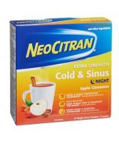 NeoCitran Night Extra Strength Cold & Sinus Apple Cinnamon