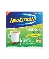 NeoCitran Night Total Cold Pouches Green tea and Citrus