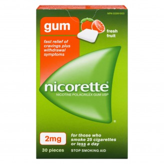 Nicorette Fresh Fruit Gum 2mg