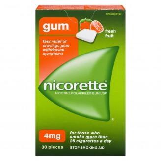 Nicorette Fresh Fruit Gum 4mg