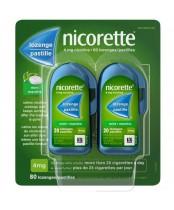 Nicorette Lozenges 4mg Mint 80's