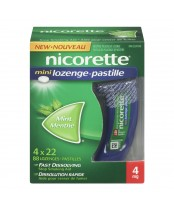 Nicorette Mini Lozenges 4-Pack