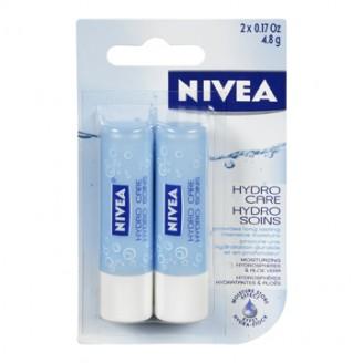 Nivea Hydro Lip Care Twinpack