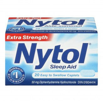 Nytol Extra Strength Easy to Swallow Sleep Aid Caplets