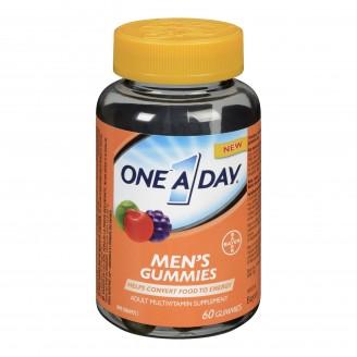 One A Day Men's Adult Multivitamin Supplement Gummies