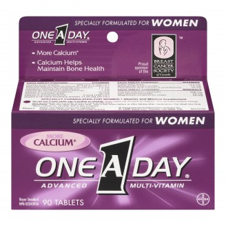 One A Day Specially Formulated For Women Advanced Multi-Vitamin