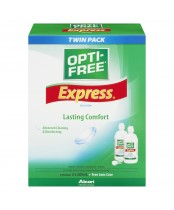 Opti-Free Express Lasting Comfort Solution Twin Pack