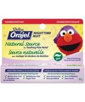 Orajel Baby Nighttime Formula Natural Source Teething Gel