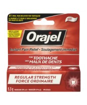 Orajel Regular Strength Toothache Pain Relief Gel