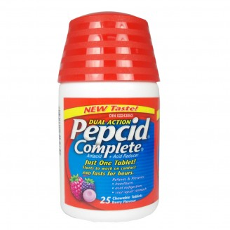 Pepcid Complete Dual Action Chewable Tablets