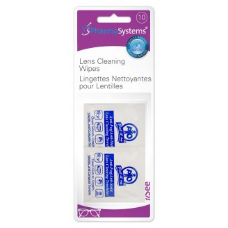 PharmaSystems uSee Lens Cleaning Wipes