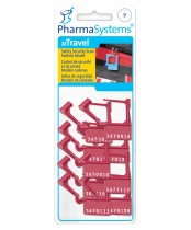 PharmaSystems uTravel Safety Security Seals