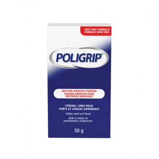Poligrip Denture Adhesive Powder