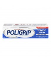 Poligrip Strong Hold Denture Adhesive Cream