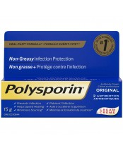 Polysporin Original Antibiotic Cream Heal-Fast Formula
