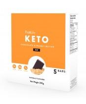 ProtiLife Keto Chocolate and Peanut Butter Bar