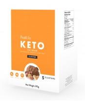 ProtiLife Keto Fat Bomb Chocolate, Peanut and Sea Salt Clusters