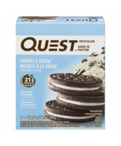 Quest Cookies and Creme Flavoured Protein Bar