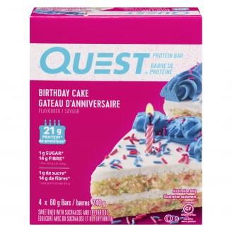 Quest Nutrition Birthday Cake Flavoured Protein Bar