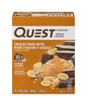 Quest Protein Bars Chocolate Peanut Butter