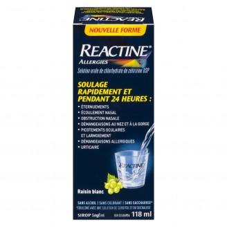 Reactine Allergy Liquid 24 Hour Relief