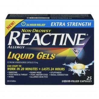 Reactine Allergy Liquid Gels