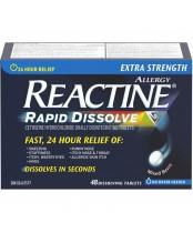 Reactine Extra Strength Rapid Dissolve Allergy Relief