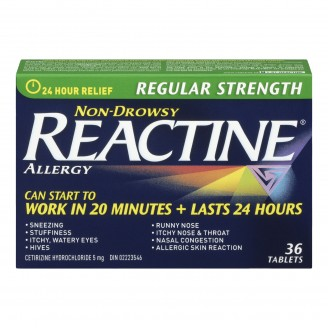 Reactine Regular Strength